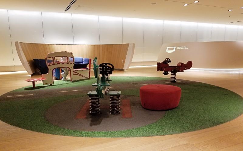 kids playground in airport