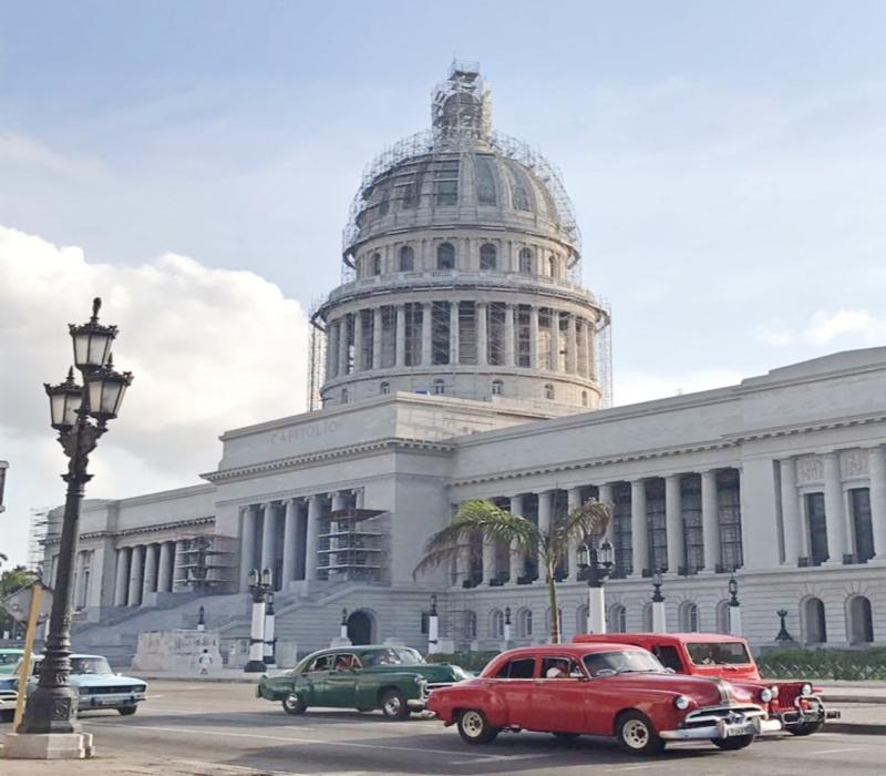 Capital Building in Havan