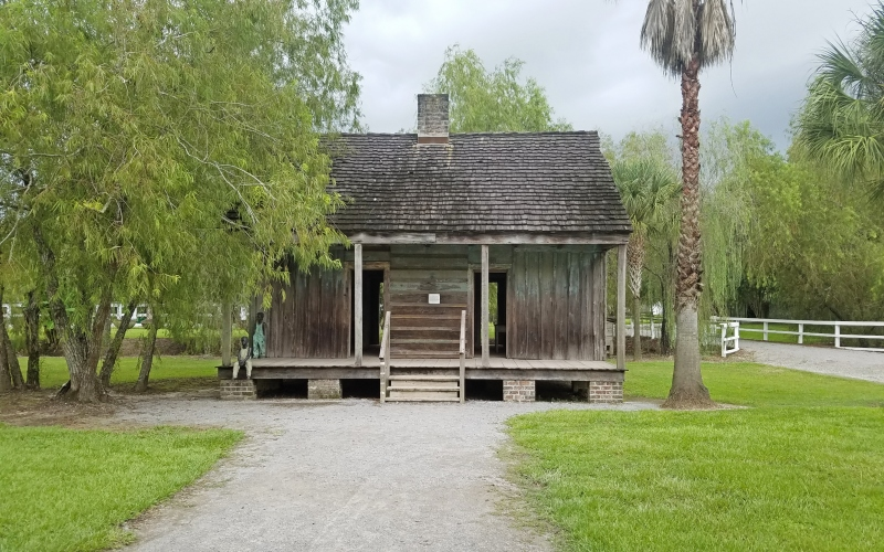 slave house on a plantation