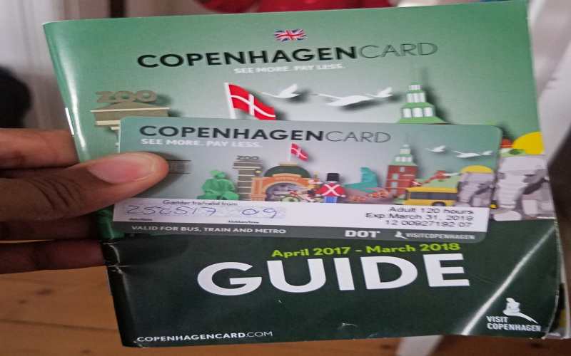 Copenhagen guide book