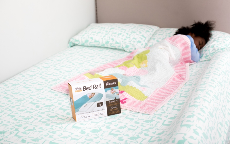 Wally Inflatable Bed Rails | The Traveling Child