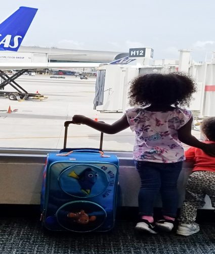 Scandinavian Airlines with Kids