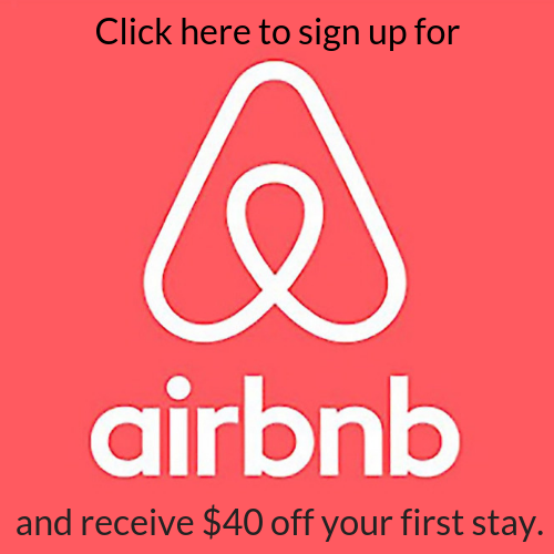SIGN UP FOR AIRBNB & RECEIVE $40 OFF