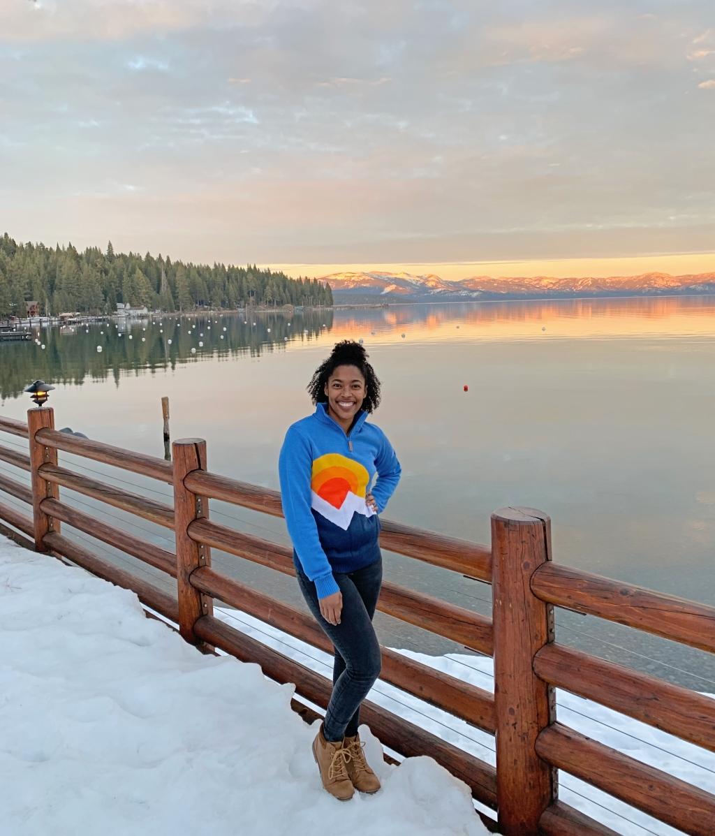 Lake Tahoe in the Winter Tahoe North
