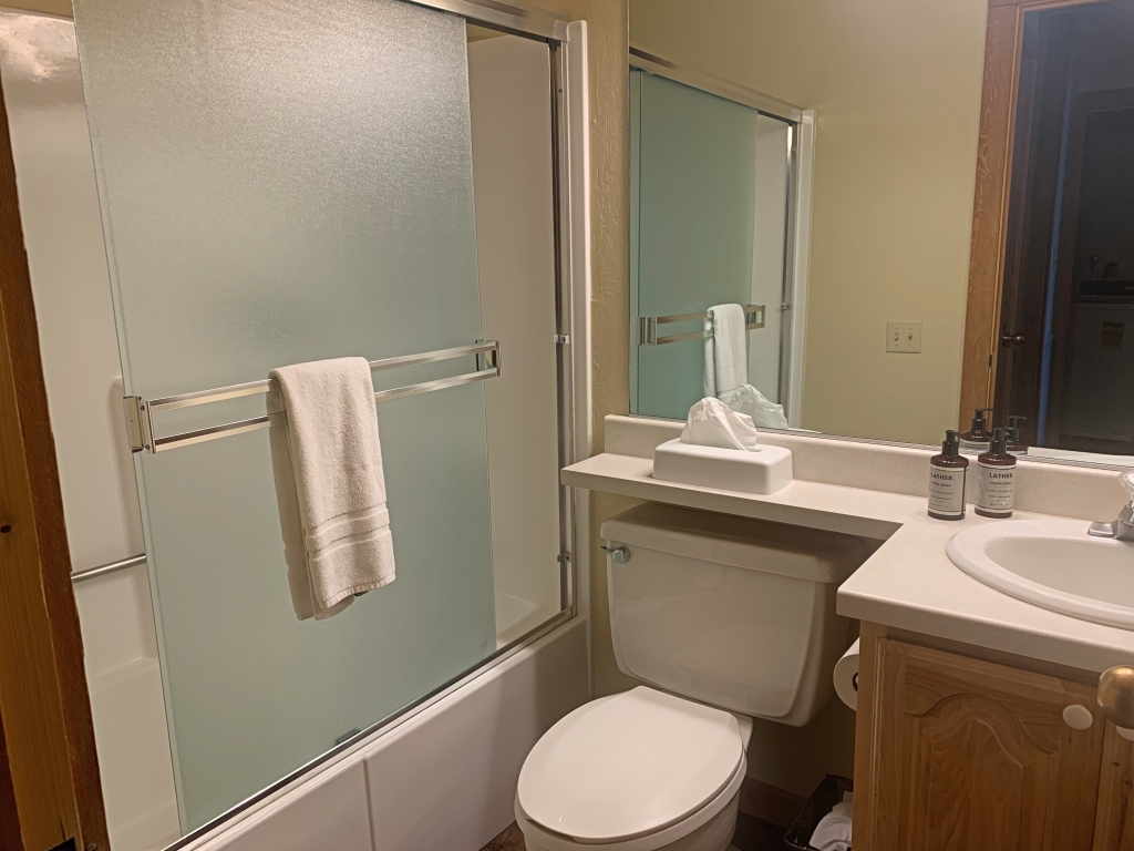 Northstar Ski Resort Indian Hills Condo Bathroom
