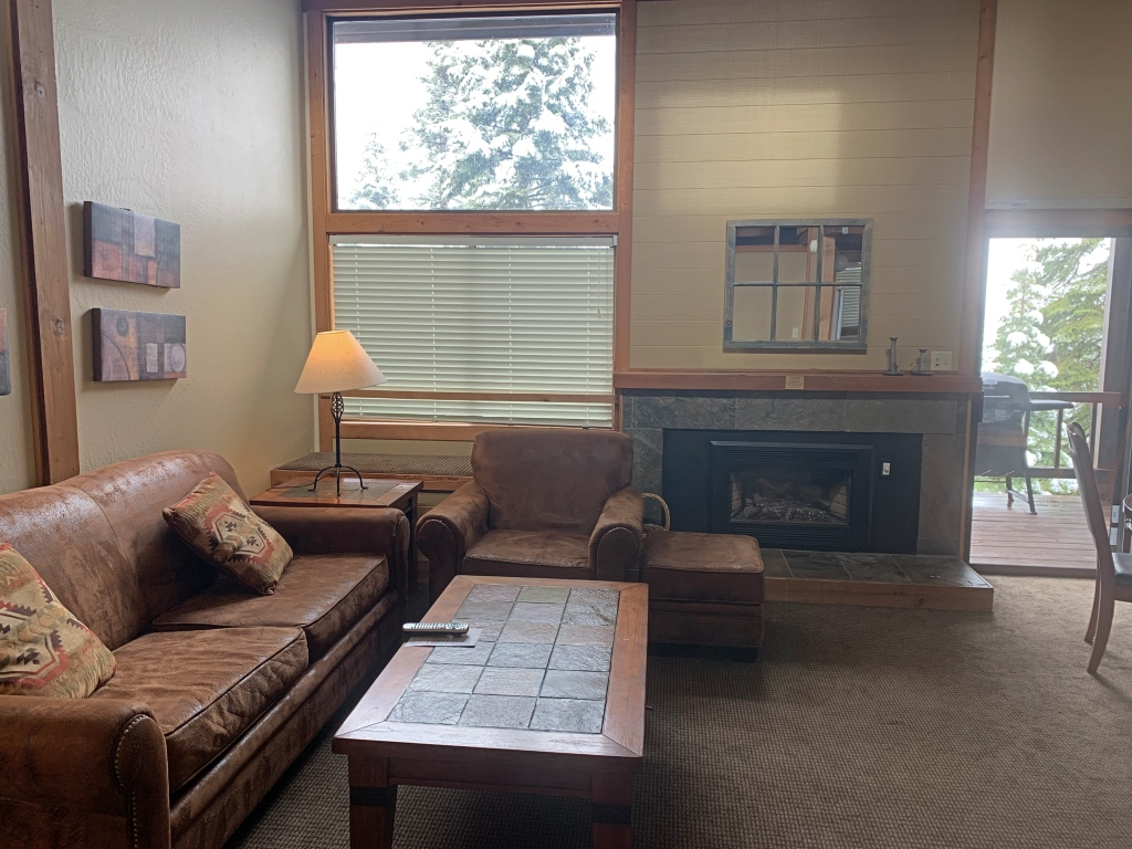 Northstar Ski Resort Indian Hills Condo Living Room