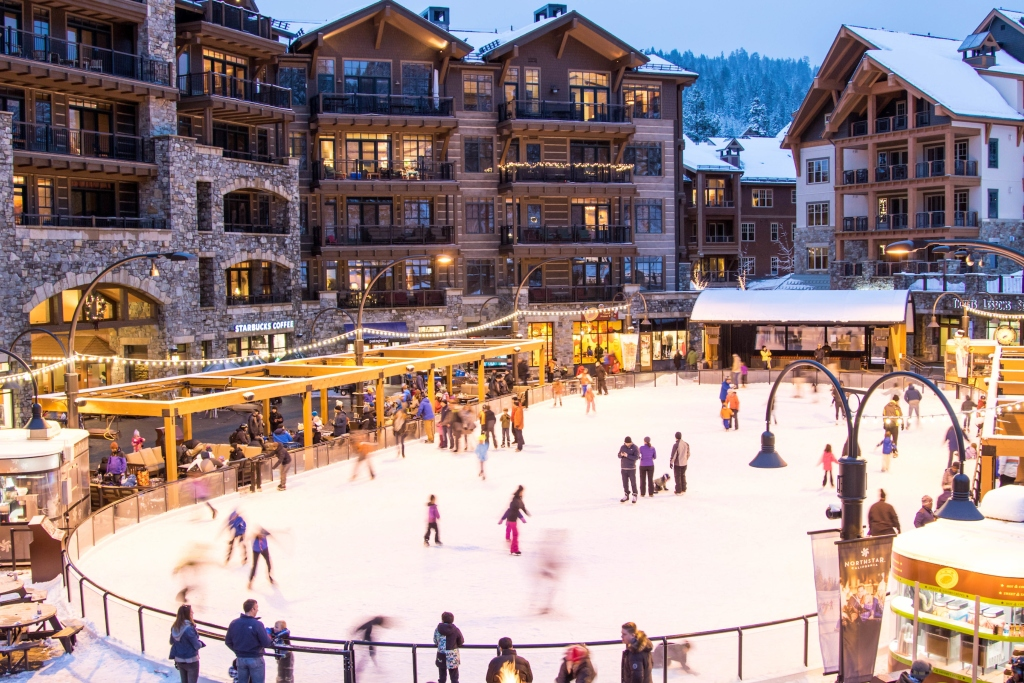 Northstar Village Ice Skating Rink
