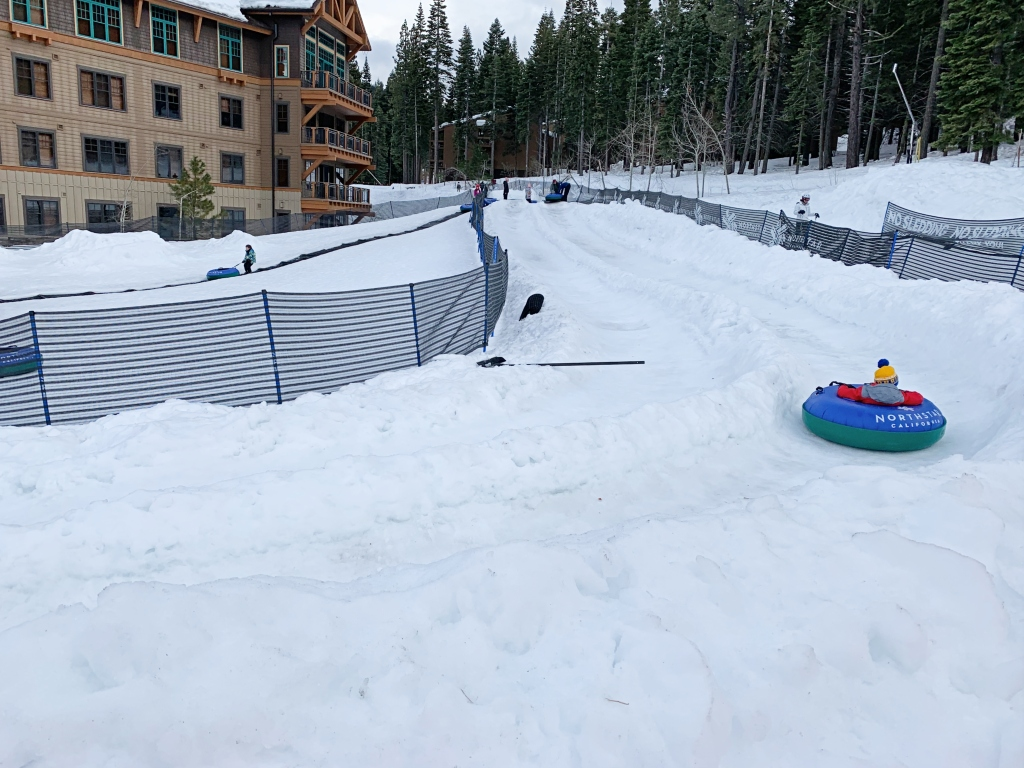 Northstar Village Tubing at the Overlook