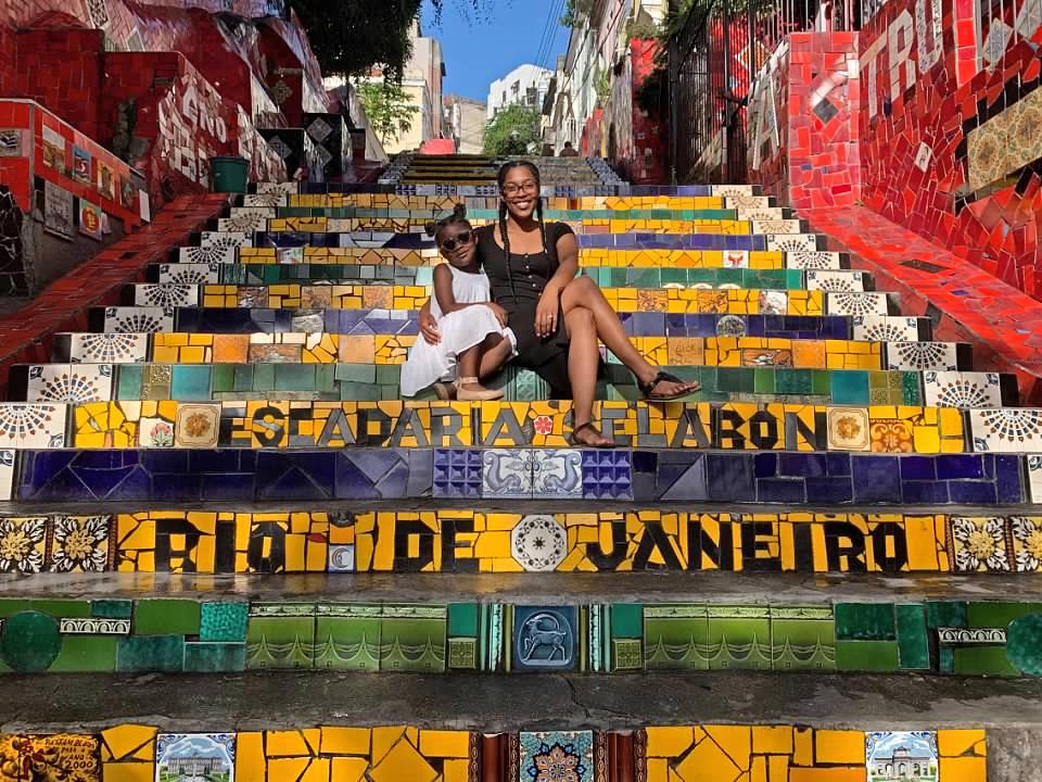 Escadaria Selaron Brazil Vacation