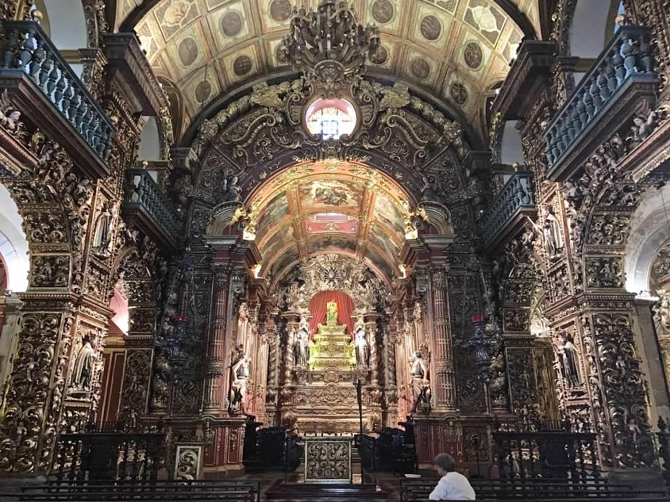 Mosteiro de Sao Bento Rio de Janeiro Vacation