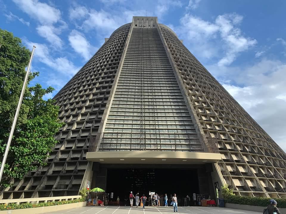 Rio de Janeiro Vacation Metropolitan Cathedral of Saint Sebastion