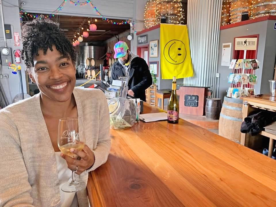 Santa Barbara Funk Zone Oreana Wine