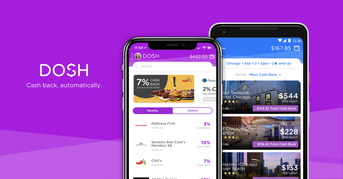 Dosh App How to Save Money to Travel
