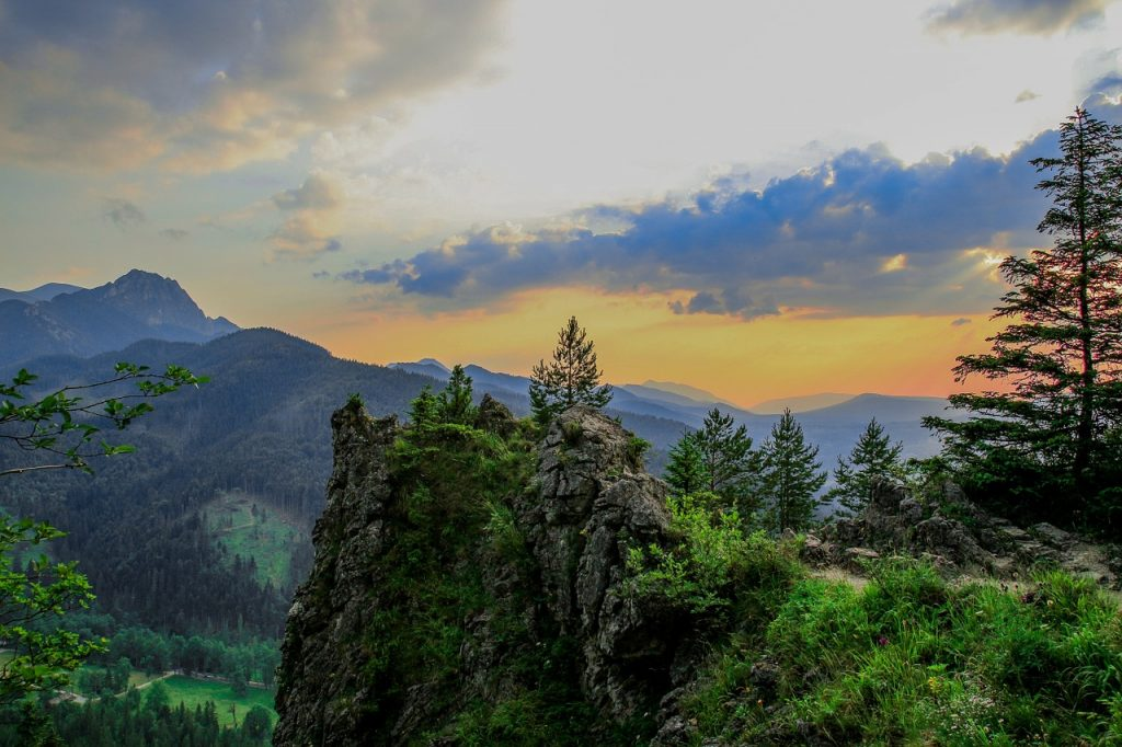 Poland landscape and mountain top views perfect for outdoor adventures!