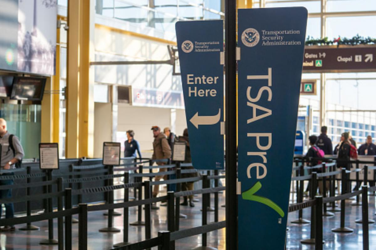 TSA PreCheck line at airport